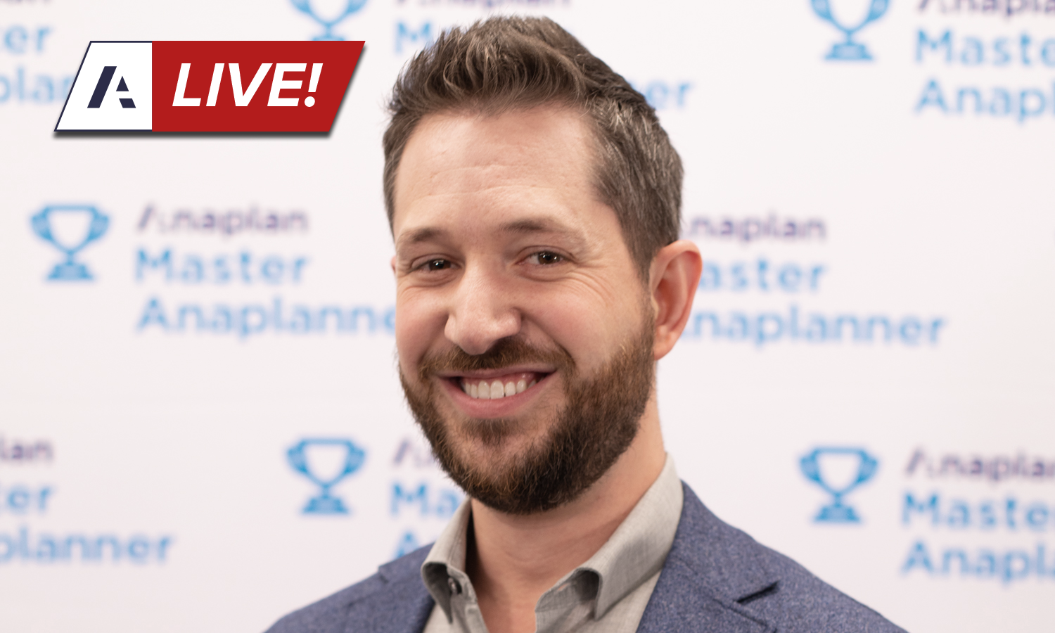 Coming Soon:<br>Anaplan Live! March 2020